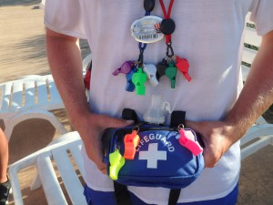 Lifeguard Whistles and Hip Pack Water Safety Products