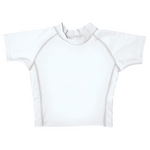 UPF 50+ Short Sleeve Baby Rash Guard