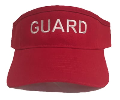 Brushed Cotton Guard Visor