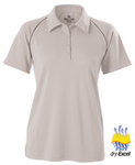 Womens Dry-Excel Twill Interlock Polo