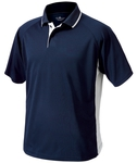 Men's Color Blocked Wicking Polo