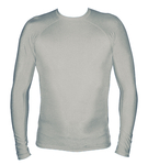 Long Sleeve Lycra Rash Guard - Grey