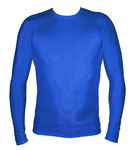 Long Sleeve Lycra Rash Guard-Royal