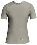 Short Sleeve Lycra Rash Guard - Grey