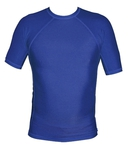 Short Sleeve Lycra Rash Guard - Navy