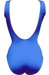 Lifeguard Tank Swimsuit - Royal