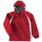 Clearance Micro-Cord Hooded Pullover Jacket