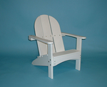 Recycled Plastic Kids Adirondack Chair