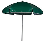 6 1/2' Heavy Duty Solid Color Vinyl Lifeguard Umbrella