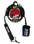 Rescue Board / SUP Coiled Leash 10ft