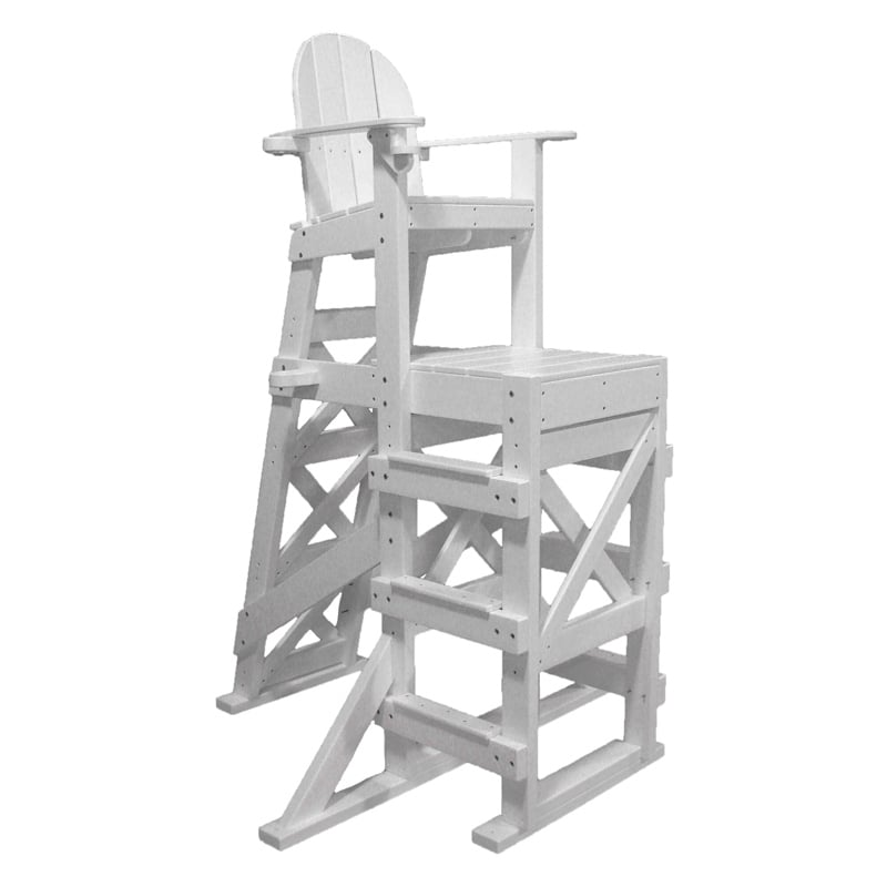 Recycled Plastic Tall Lifeguard Chair