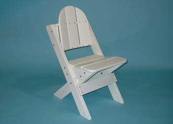 Recycled Plastic Dining Chair- no arms