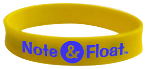 Note & Float Wristband