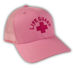 Lifeguard Pink Breast Cancer AwarenessTrucker Hat