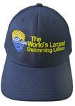 World's Largest Swimming Lesson Flex Fit Hat