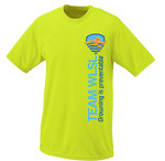 Adult WLSL Drowning is Preventable Moisture Wicking T-shirt