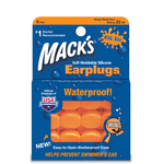 Mack's ® Moldable Silicone Kids' Size Ear Plugs 6-pair Box