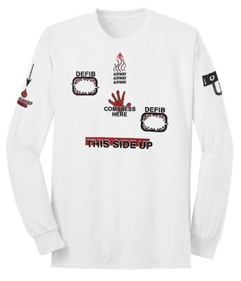 AED/CPR Long Sleeve T-shirt