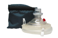 CPR Micromask with Oxygen Inlet