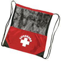 Lifeguard Drawstring Bag