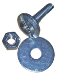 Fiberplate Hardware for Concrete or Steel