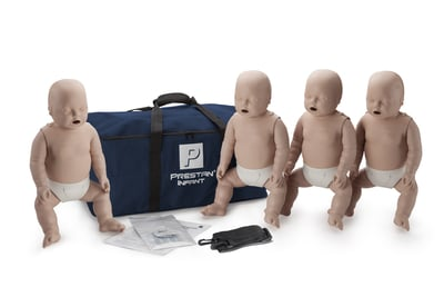 Prestan Infant Manikins with CPR Monitor 4-Pack