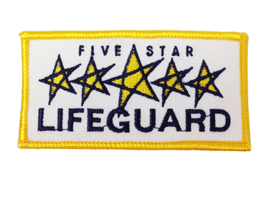 Five Star Lifeguard Patch