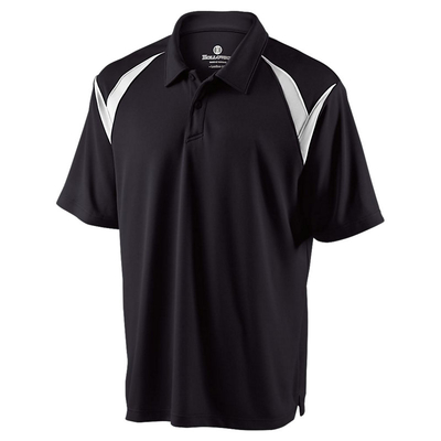 Clearance Men's Dry-Excel Laser Polo Black
