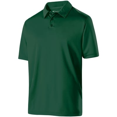 Forest Green Men's Dry Excel Shift Polo