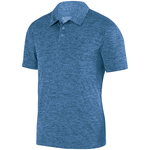Clearance Men's Intensity Heather Polo Columbia Blue