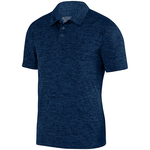 Clearance Men's Intensity Heather Polo Navy