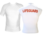Short Sleeve Lifeguard Rash Guard