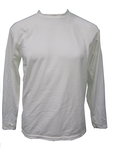 White Long Sleeve High-Tech DryGuard Shirt