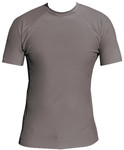 Short Sleeve Lycra Rash Guard- Dark Grey