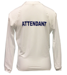 XL Attendant Long Sleeve Lycra Rash Guard