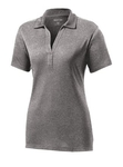 Clearance Ladies Contender Polo Grey