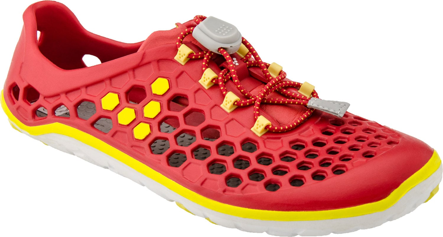 The Ultra Ii Vivo Barefoot Women S Shoes Red Yellow