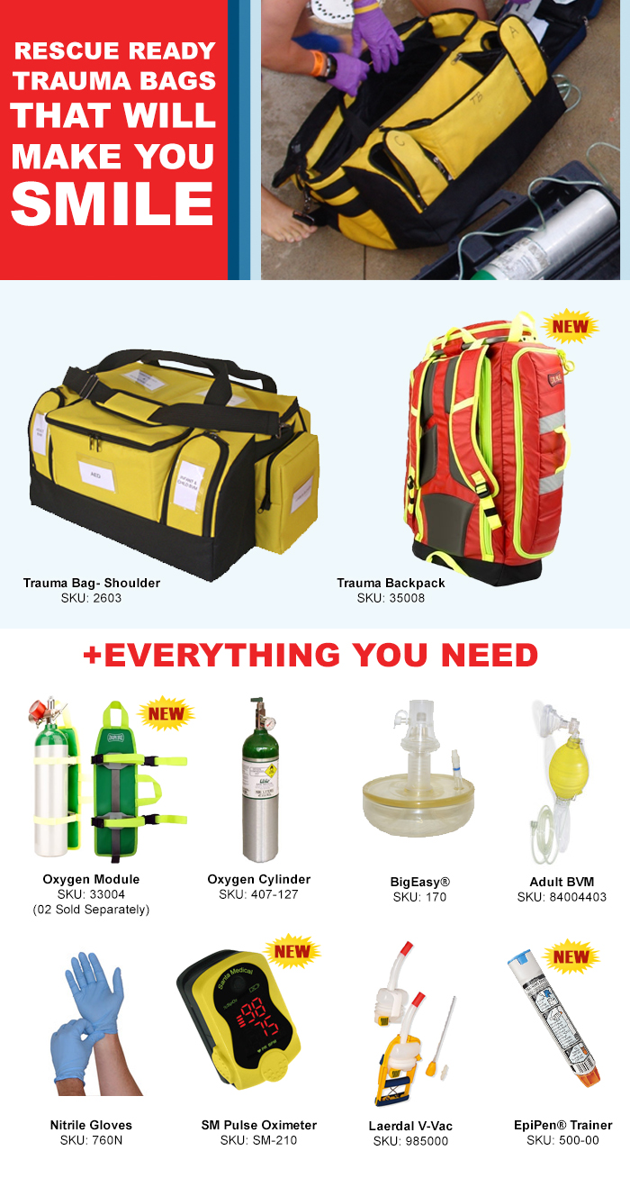 Rescue Ready Trauma Bags
