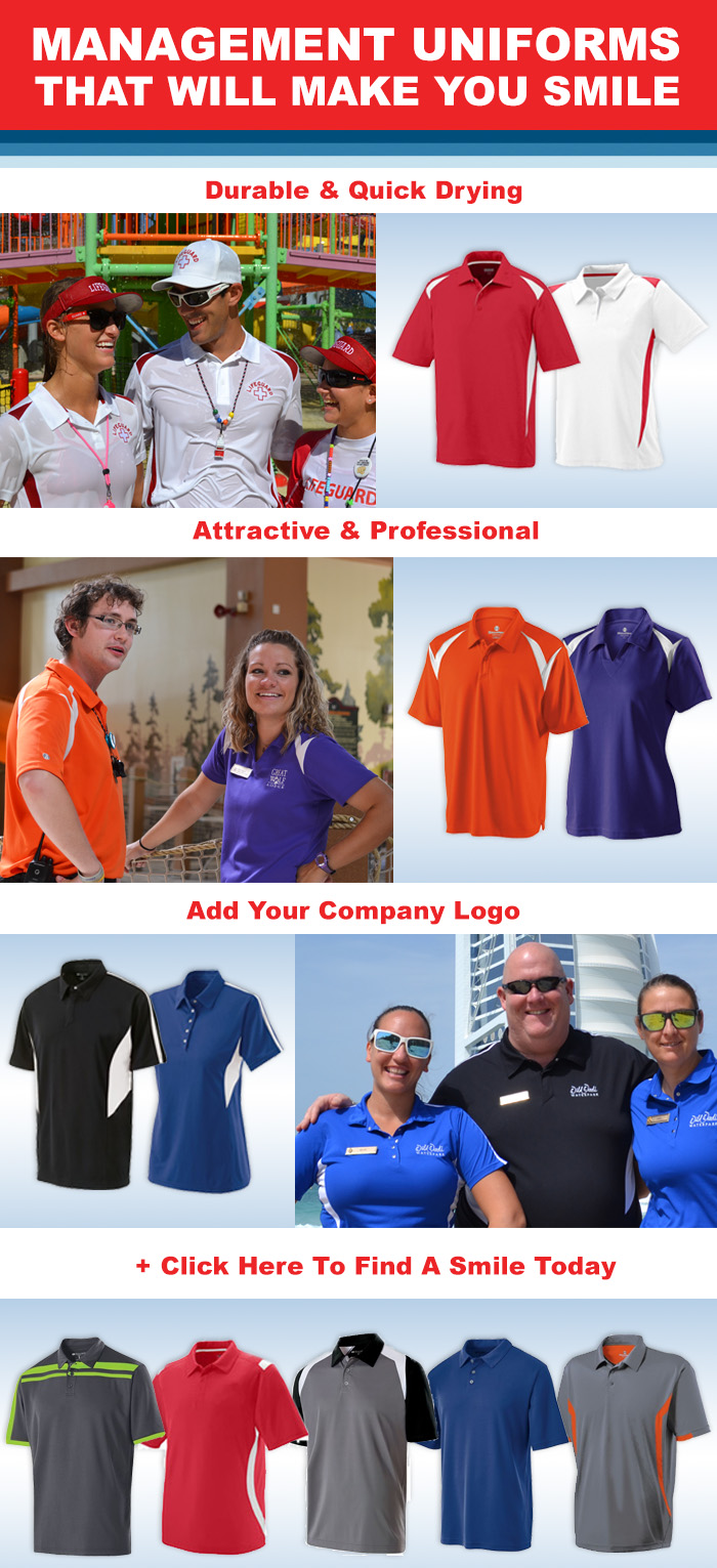 MANAGEMENT UNIFORMS THAT WILL MAKE YOU SMILE