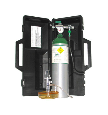 Fixed Flow Portable Oxygen Unit