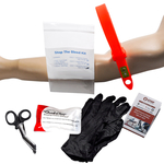 STOP the Bleed Kit -STAT 3 QuikClot Dressing