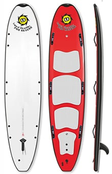 "10'0"" HD Rescue Hybrid SUP Paddleboard"
