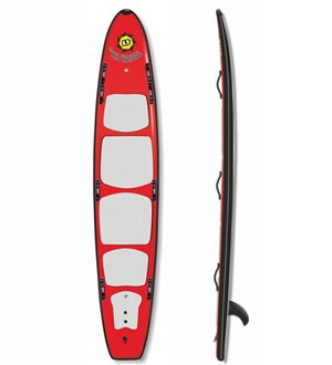 12ft HD Rescue Hybrid Soft SUP Board