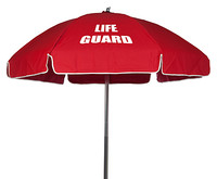 6 1/2' Lifeguard Sunbrella Umbrella