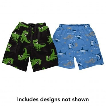 UPF 50+ Reusable Ultimate Swim Diaper Trunks