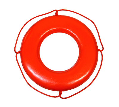"U.S. Coast Guard-Approved 30"" Buoy"