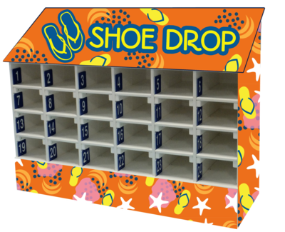 Customizable Shoe Drop