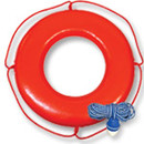 Ring Buoys, Floats, Ropes & Hook