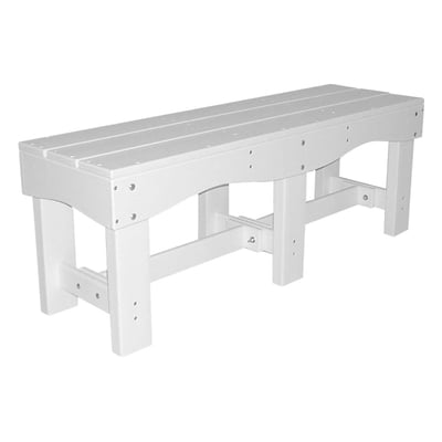 "Recycled Plastic 47"" Flat Bench"