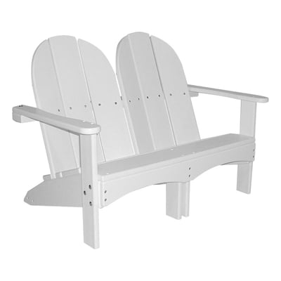 Recycled Plastic Kids Double Adirondack Chair
